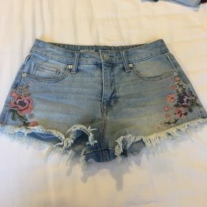 Mission High Rise Jean Short